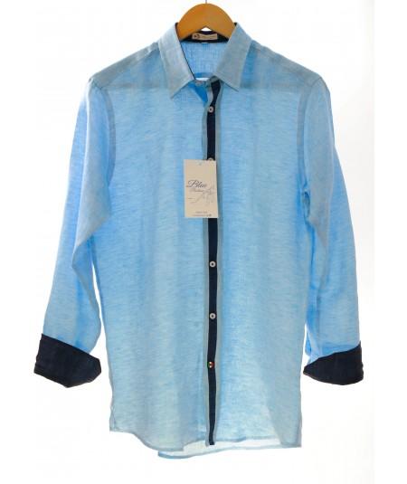 Camicia Boss Turchino 100% lino