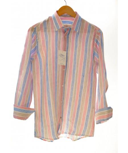 Camicia Cuba 100% lino