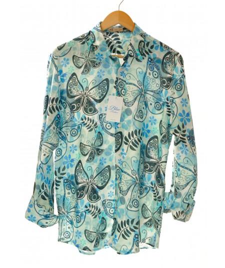 Camicia Farfalla 100% lino