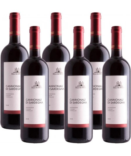Cannonau di Sardegna Sella & Mosca Confezione da 6 Bottiglie