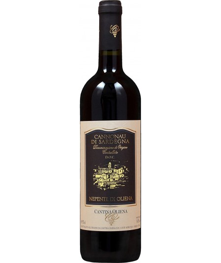 Vino rosso Cannonau di Sardegna DOC Nepente di Oliena