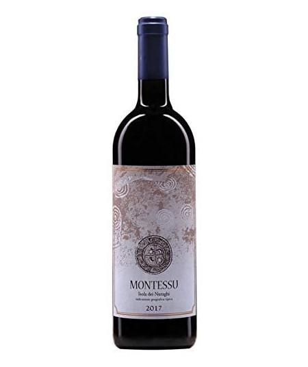 Vino rosso Montessu Agripunica di Sardegna