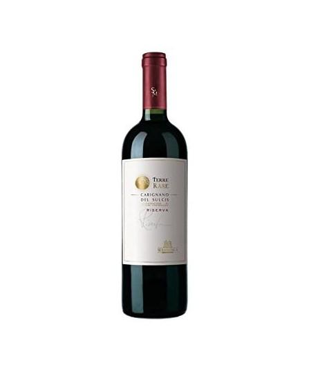 3 Bottiglie di vino Carignano del Sulcis Terre Rare Riserva