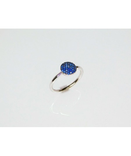 Anello con diamante naturale